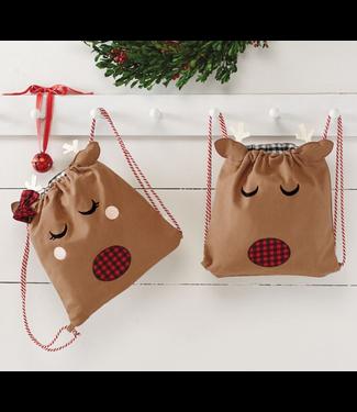Mud Pie Reindeer Bag