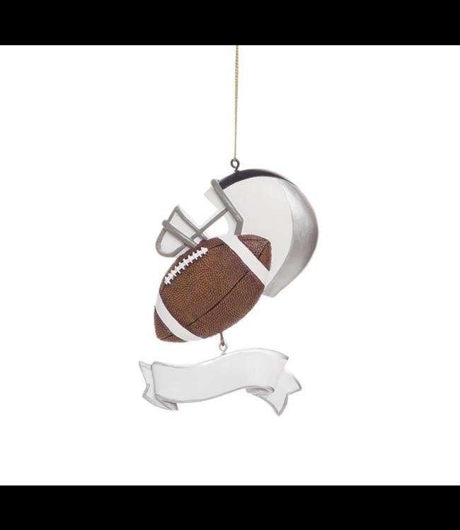 Football Banner Ornament