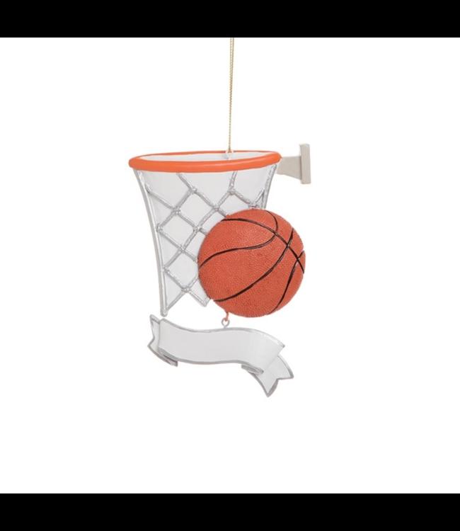 Basketball Banner Ornament