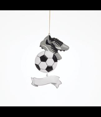 Soccer Banner Ornament