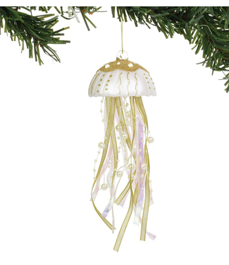 Pacific Gold Jellyfish Ornament