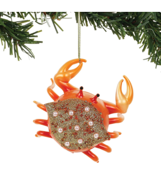 Pacific Gold Crab Ornament