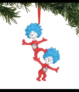 Thing 1 Thing 2 Ornament
