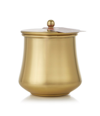 Simmered Cider Poured Candle Gold Kettle Cup