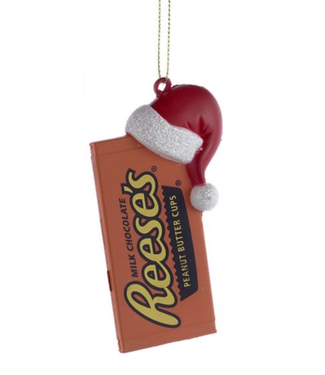 """3.5"""" REESE'S BAR W/ HAT"""