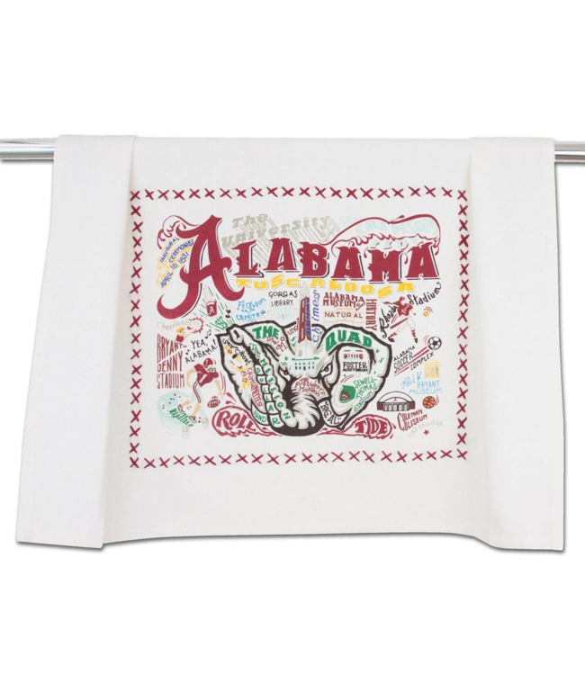 Univ of Alabama Dish Towel