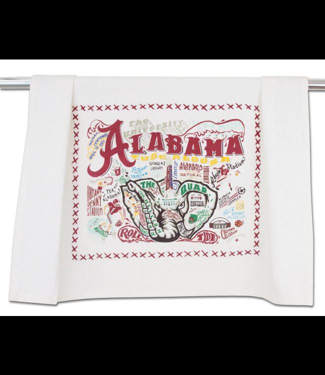 Univ of Alabama Dish Towel