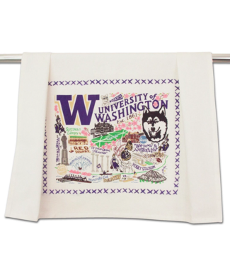 University of Washington Dish Towel