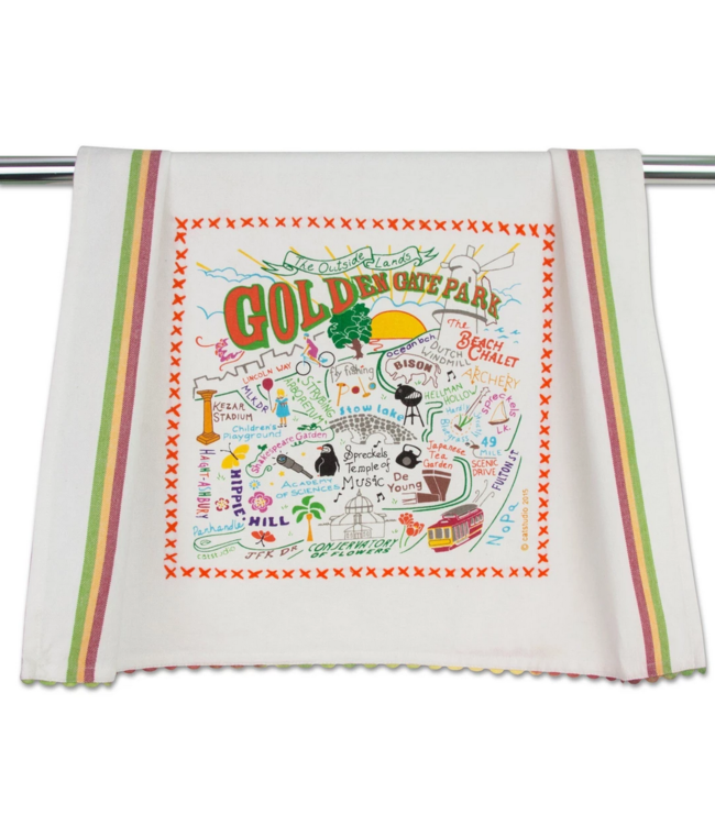 Golden Gate Park Dish Towel