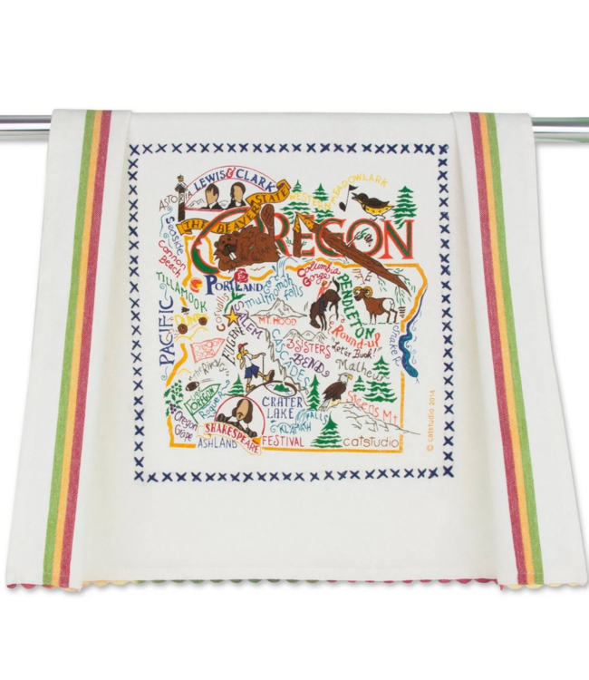 Oregon Dish Towel