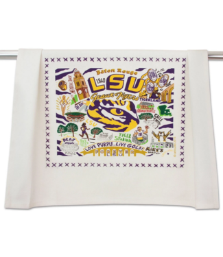 Louisiana State Univ (LSU) Dish Towel
