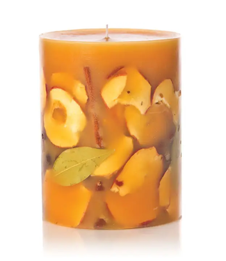 """Spicy Apple 6.5"""" Round Botanical Candle"""