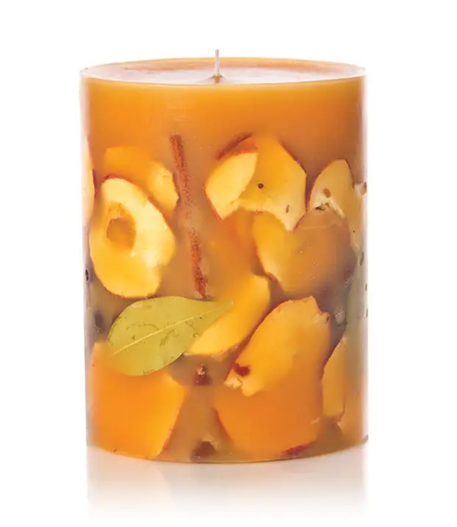 "Spicy Apple 5"" Tall Botanical Candle"