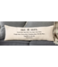 Mud Pie Mr and Mrs Definition Pillow
