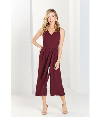 Mud Pie Adelynn Jumpsuit Pinot