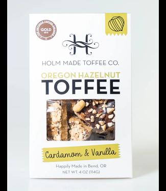 Oregon Hazelnut Toffee - cardamom & vanilla