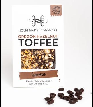 Oregon Hazelnut Toffee - Espresso