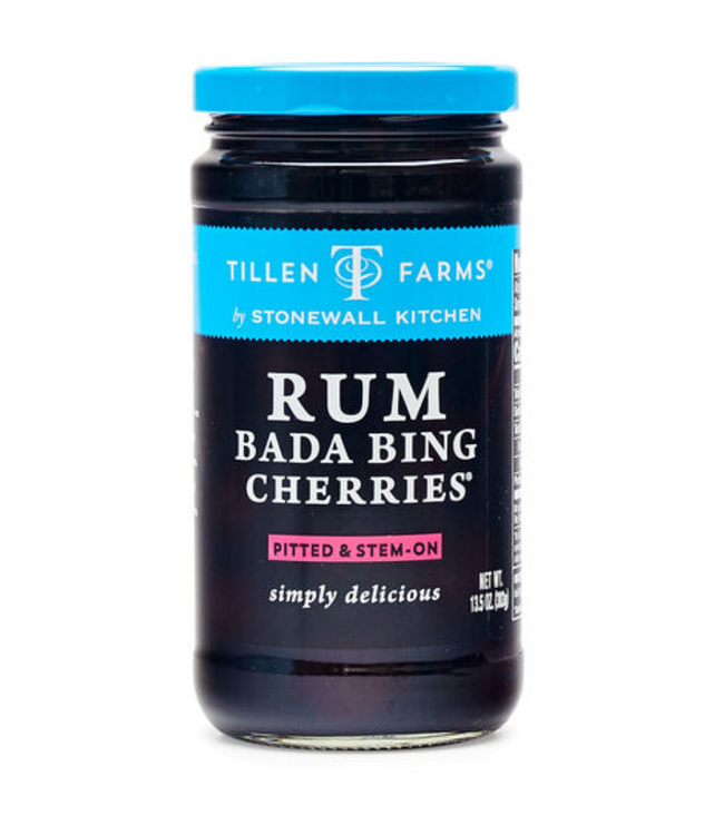 Stonewall Kitchen Tillen Farms Rum Bada Bing Cherries