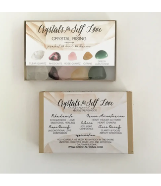 Crystals for Self Love Boxed Set