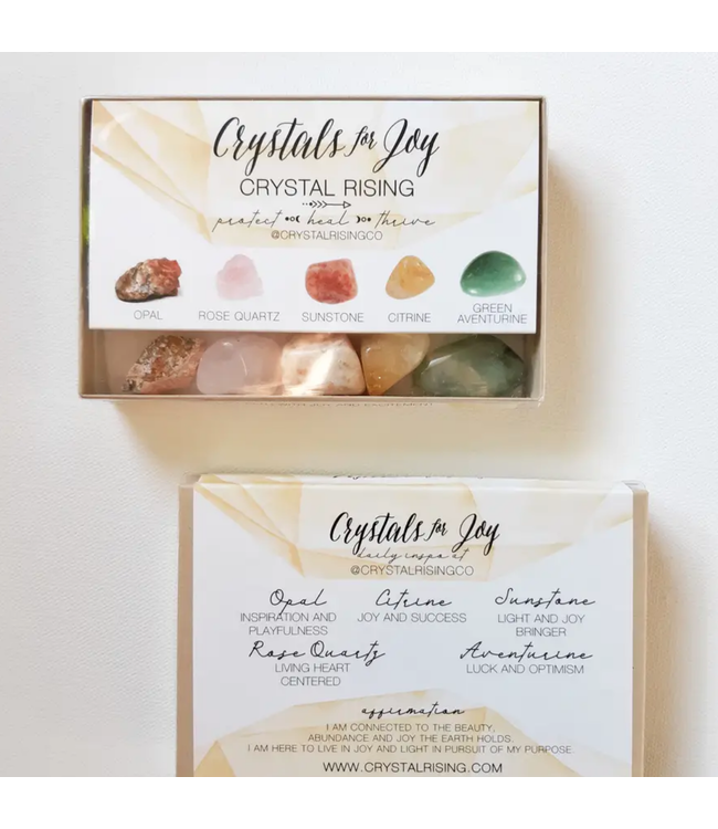 Crystals for Joy Boxed Set