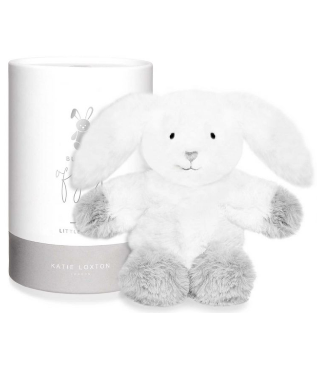 Baby Toy - Bunny - White and Grey