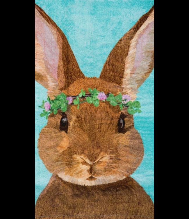 Clover Bunny Towel