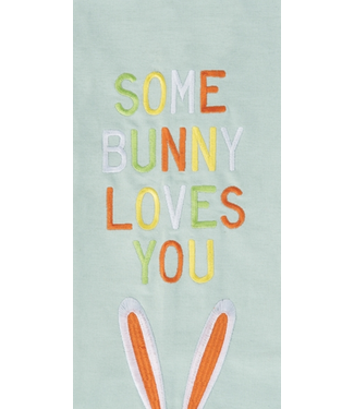 Some Bunny Love You Towel