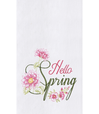 Hello Spring Towel