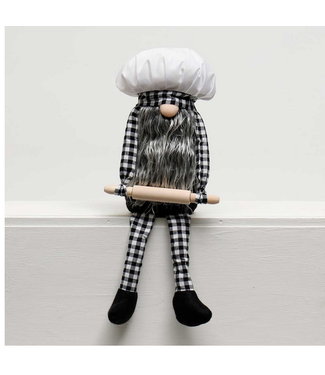 BAKER GNOME with ROLLING PIN