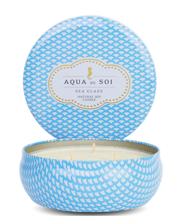 Aqua de SOi Sea Glass 21oz Tin