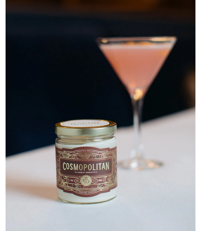 Rewined Cocktail Collection Cosmopolitan Candle 12oz