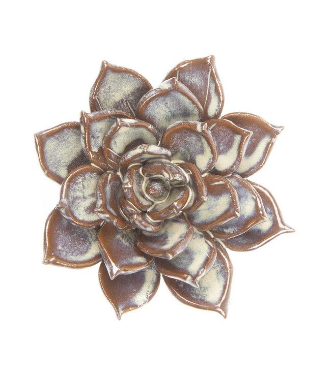 Chive Ceramic Succulent Small Flower Cream