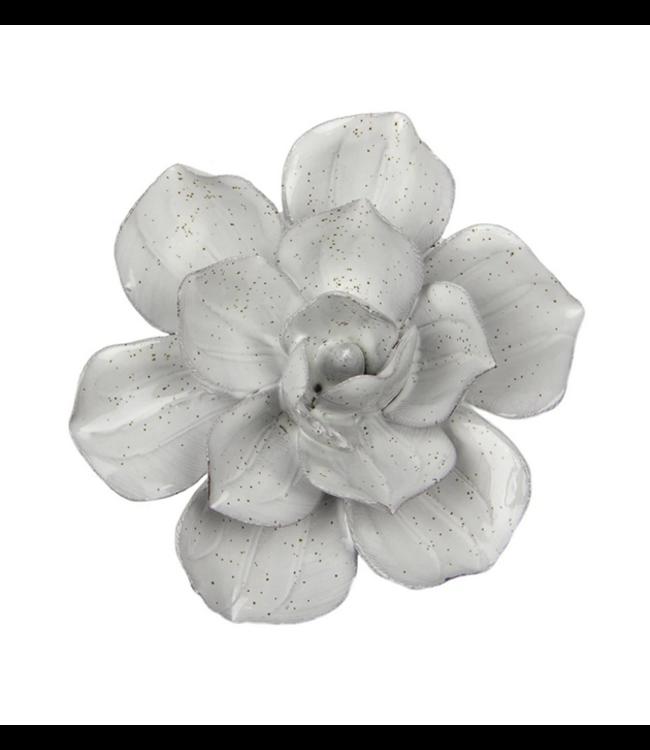 Chive Ceramic Succulent Small Flower White