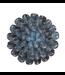 Chive Ceramic Succulent Medium Flower Blue Grey