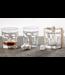 Mud Pie Whiskey Glass and Stone Set