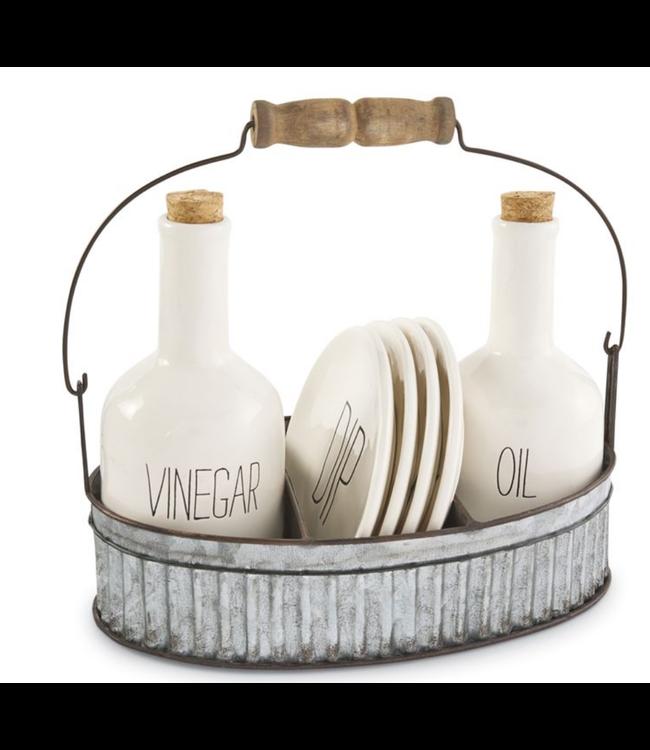 Mud Pie Oil & Vinegar Appetizer Set