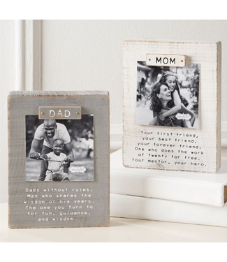 Mud Pie Parent Magnet Block Frames