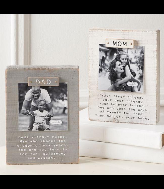 Mud Pie Parent Magnet Block Frames