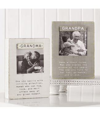 Mud Pie Grandparent Magnet Block Frames