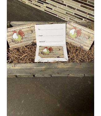 Royal Rooster Shop Gift Card $25