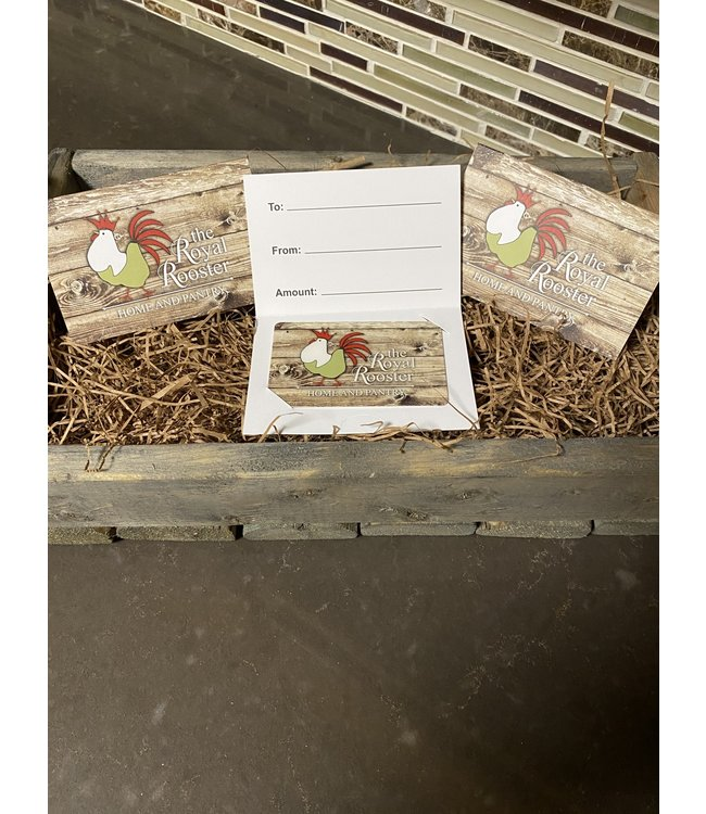 Royal Rooster Shop Gift Card $75