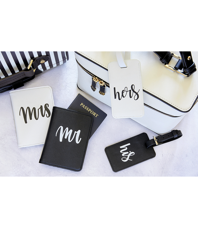 His/Hers Luggage Tag