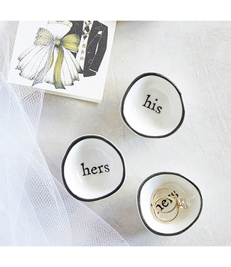 His/Hers Ring Dish