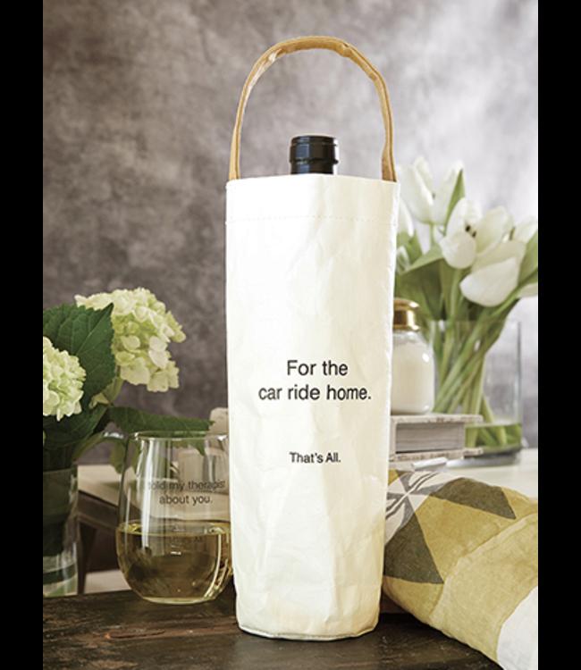 Wine Bag- Drive Home