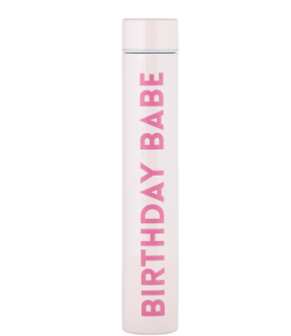 Birthday Babe Flask Bottle