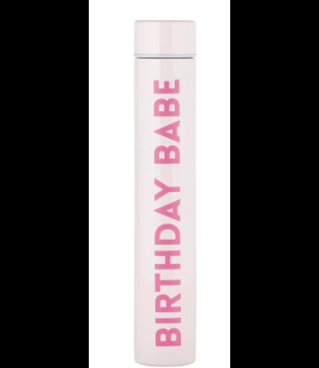 Birthday Babe Flask Bottle