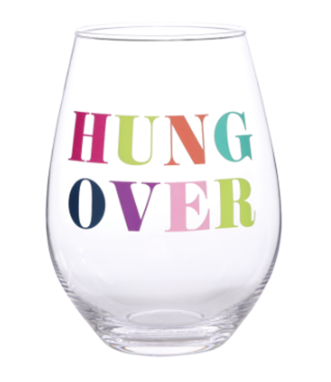 Stemless Wine Glass Hung Over 30oz