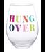 Stemless Wine Glass Hung Over 30oz