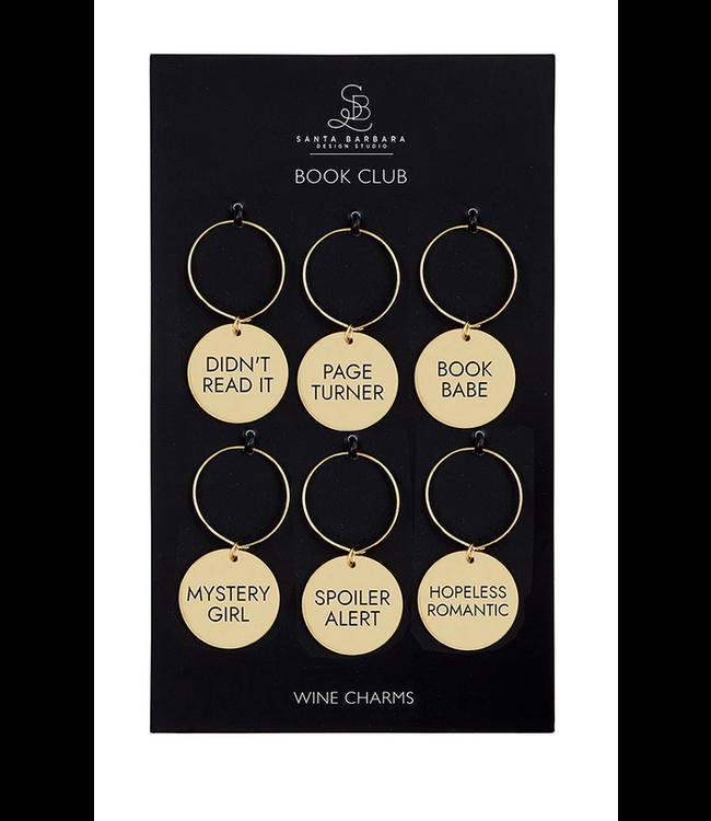 Wine Charm Set Book Club