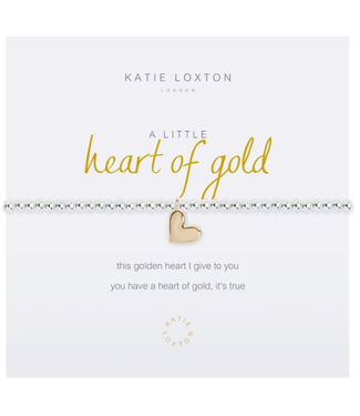 a little HEART OF GOLD - bracelet